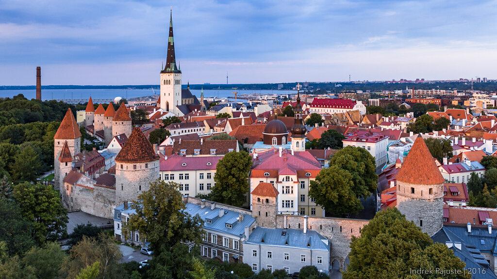 Vaade Tallinna vanalinnale